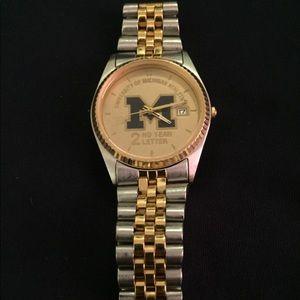 Other - University of Michigan athletics letterman's Watch